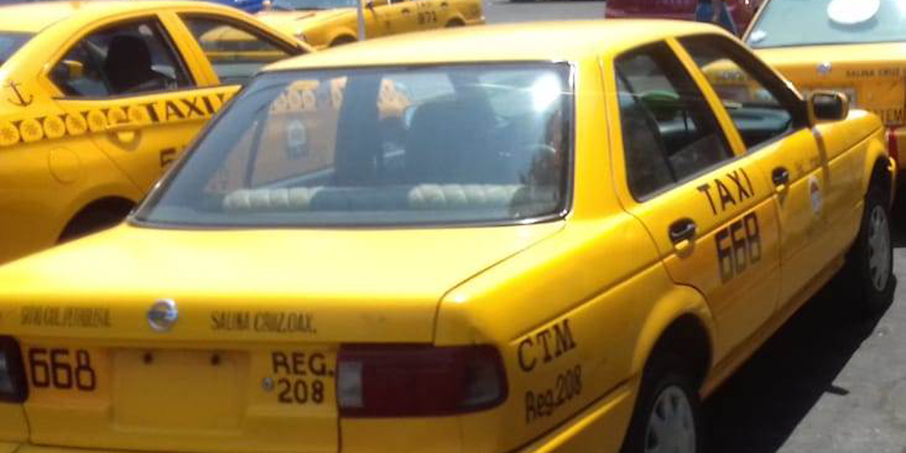 100 taxis circulan en la ilegalidad en Salina Cruz | El Imparcial de Oaxaca