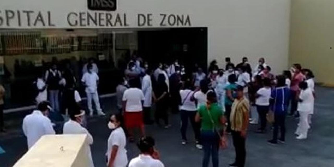 Personal del IMSS de Salina Cruz exige equipo médico | El Imparcial de Oaxaca