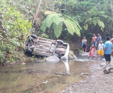 Trágico accidente en la Sierra Mixe-Zapoteca