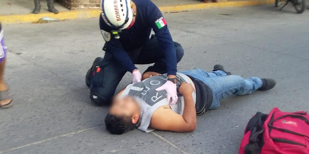 Motociclista es derribado por un perro en Juchitán   El Imparcial de Oaxaca