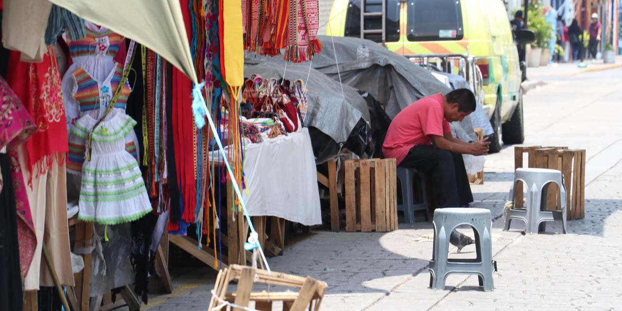 Ambulantes del centro de Oaxaca podrían retirarse una semana | El Imparcial de Oaxaca