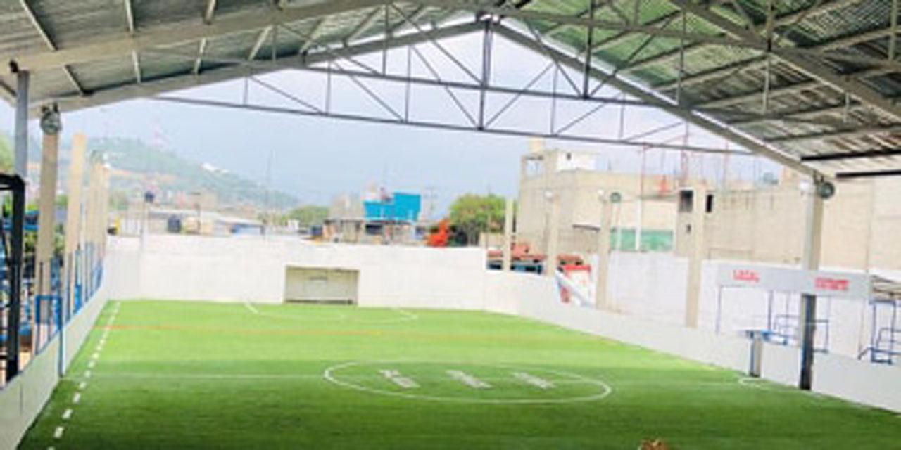 Mejoran espacios deportivos en San Martín Mexicápam | El Imparcial de Oaxaca