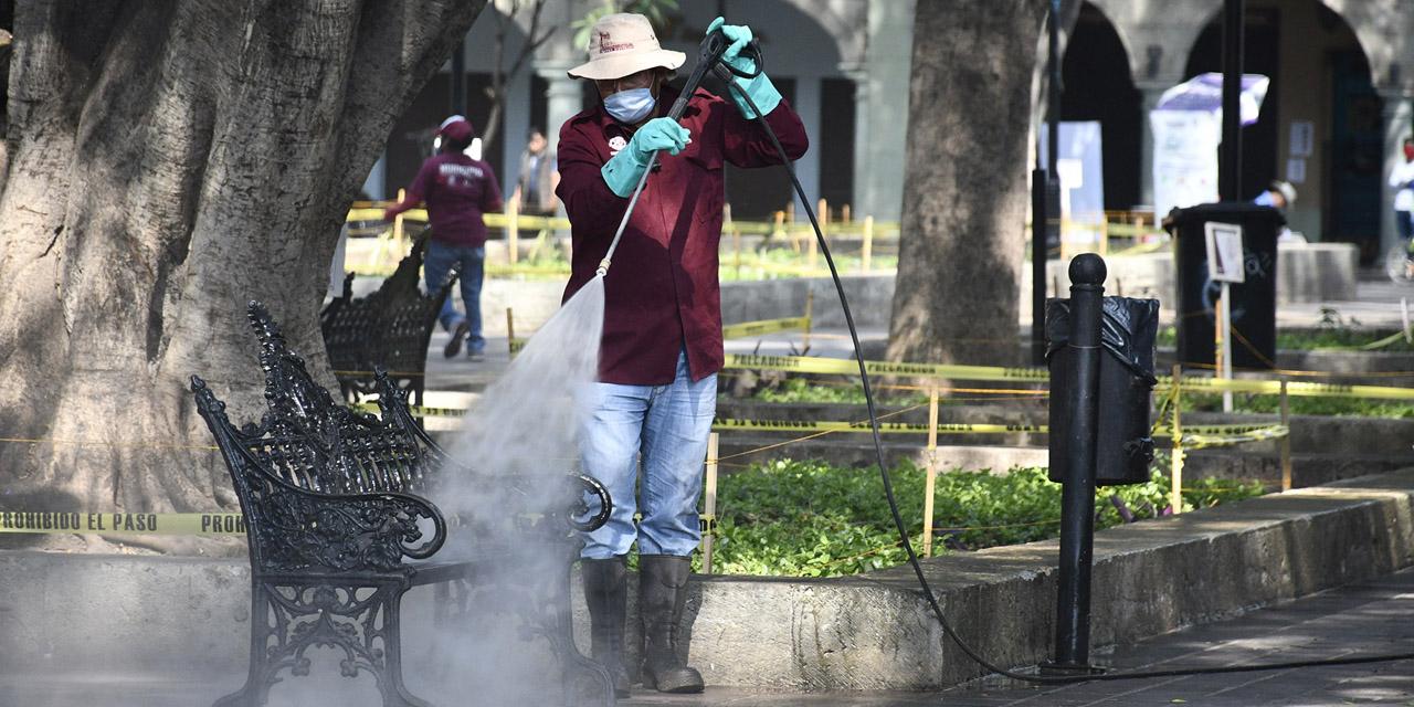 Sanitización: guía para la nueva normalidad en Oaxaca | El Imparcial de Oaxaca