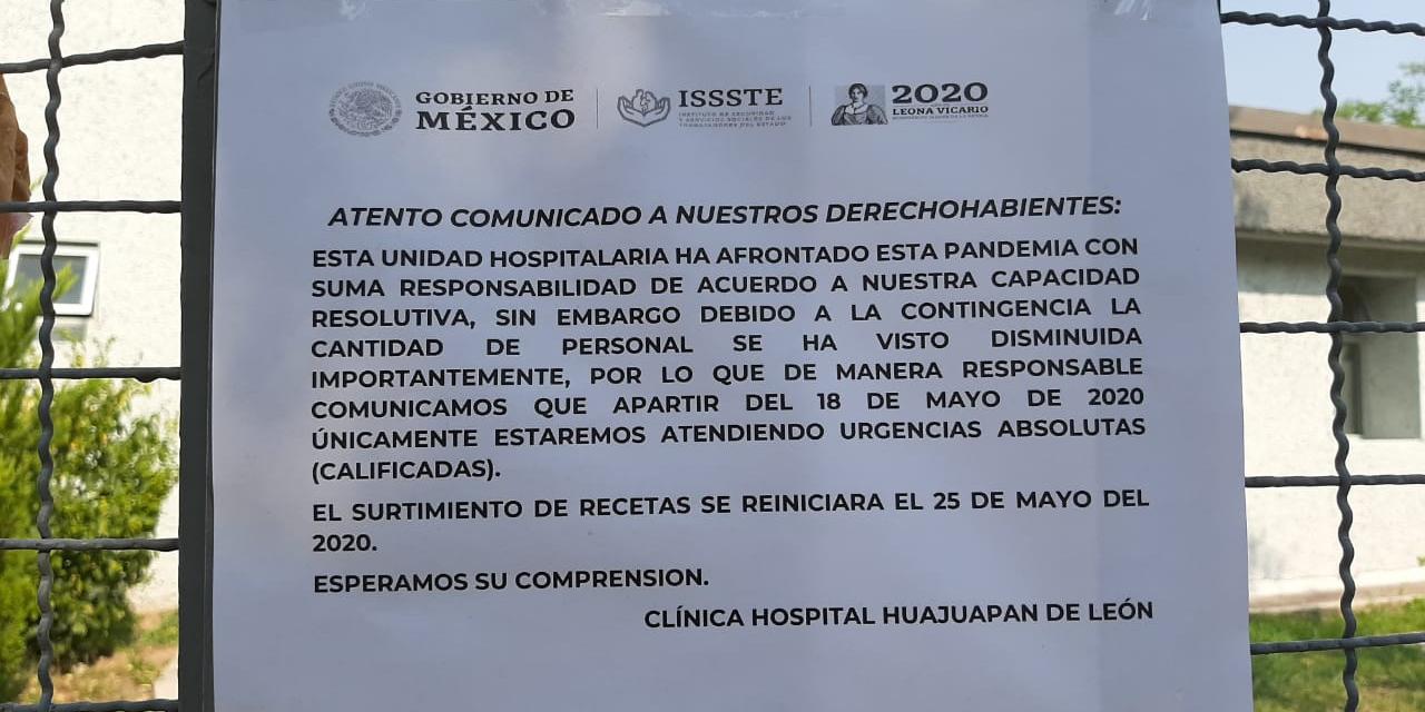 Personal médico de Huajuapan da positivo a Covid-19 | El Imparcial de Oaxaca