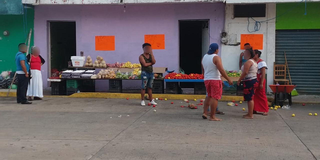 Riña entre verduleras en Matías Romero   El Imparcial de Oaxaca