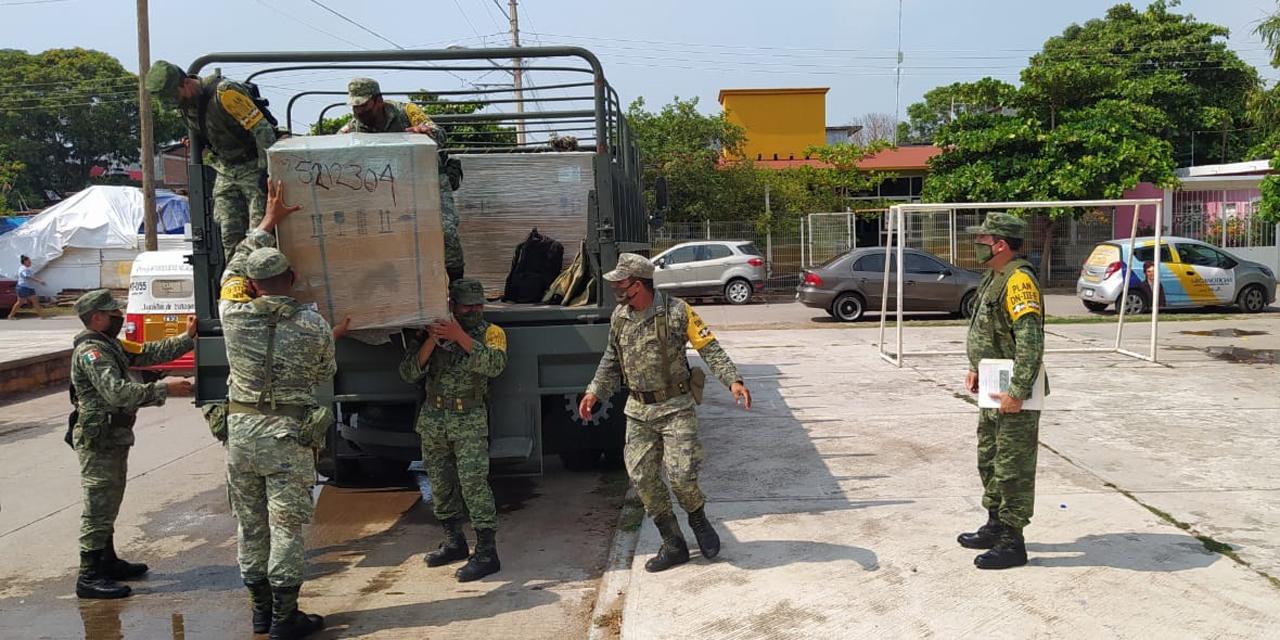 Sedena entrega equipos de refrigeración a hospitales del Istmo por Plan DN-III-E | El Imparcial de Oaxaca
