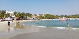 Vuelven turistas a Playa Zicatela pese a pandemia