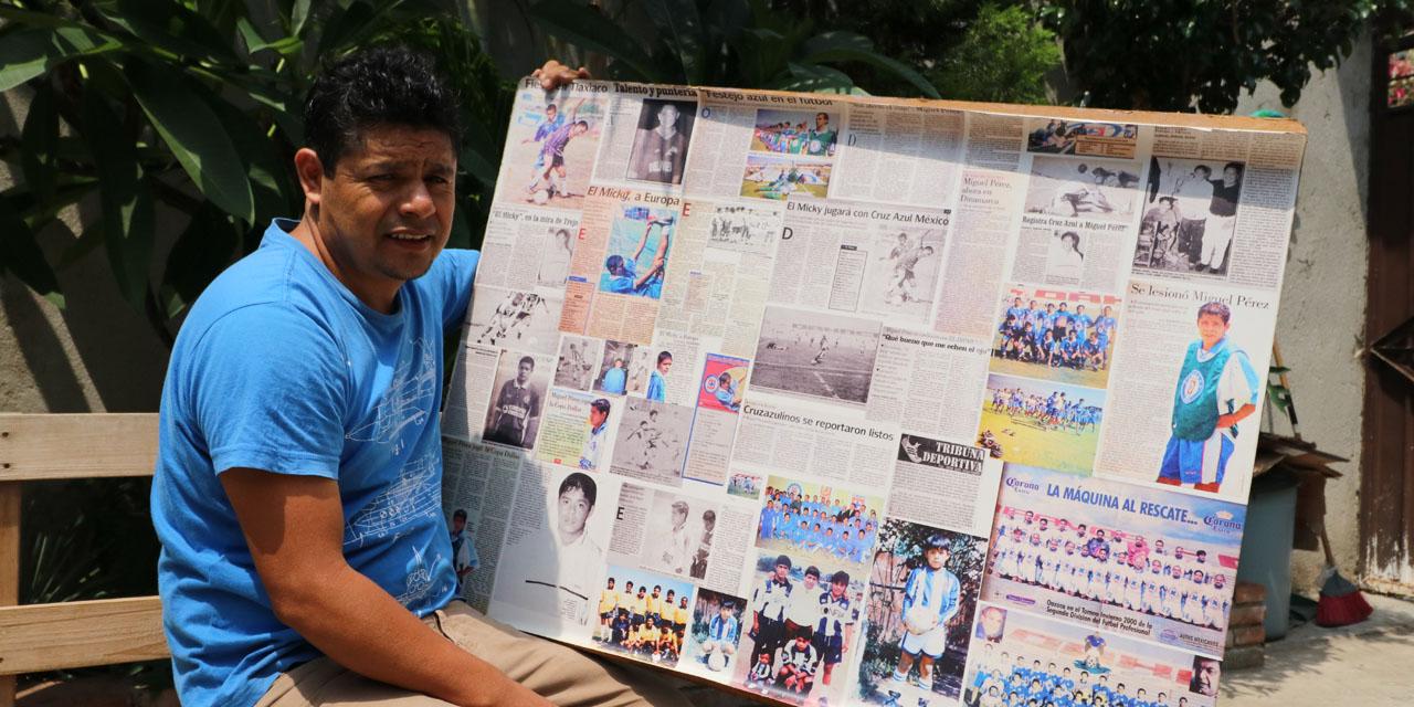 Micky Pérez; todo un crack de Mexicápam | El Imparcial de Oaxaca