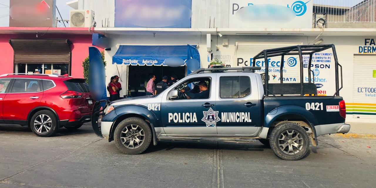 Doble atraco en Juchitán | El Imparcial de Oaxaca