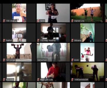 Ante pandemia, el ejercicio se activa desde casa con ayuda del internet