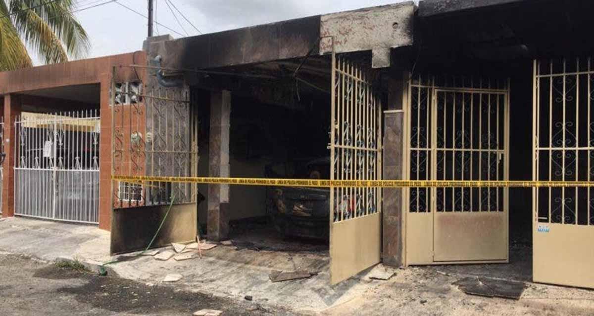 Video: Incendian casa y auto de enfermera | El Imparcial de Oaxaca