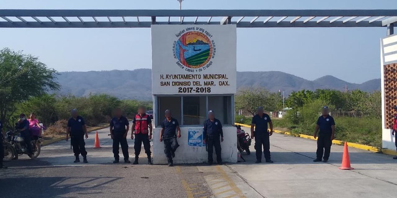San Dionisio refuerza medidas sanitarias por Covid-19   El Imparcial de Oaxaca