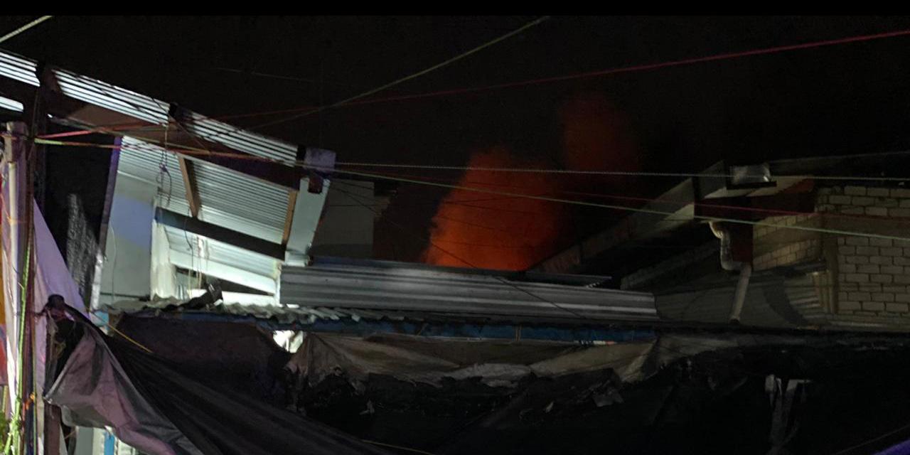 Incendio en la Central de Abasto | El Imparcial de Oaxaca