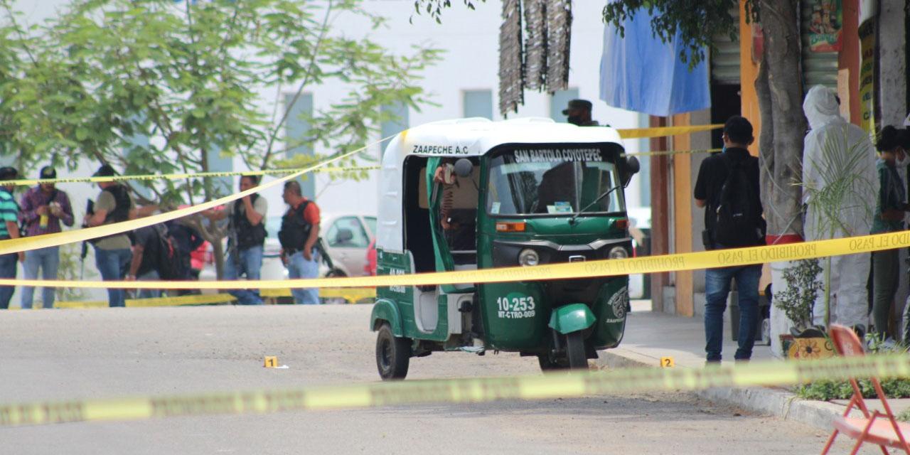 Acribillan a mototaxista en San Bartolo Coyotepec   El Imparcial de Oaxaca