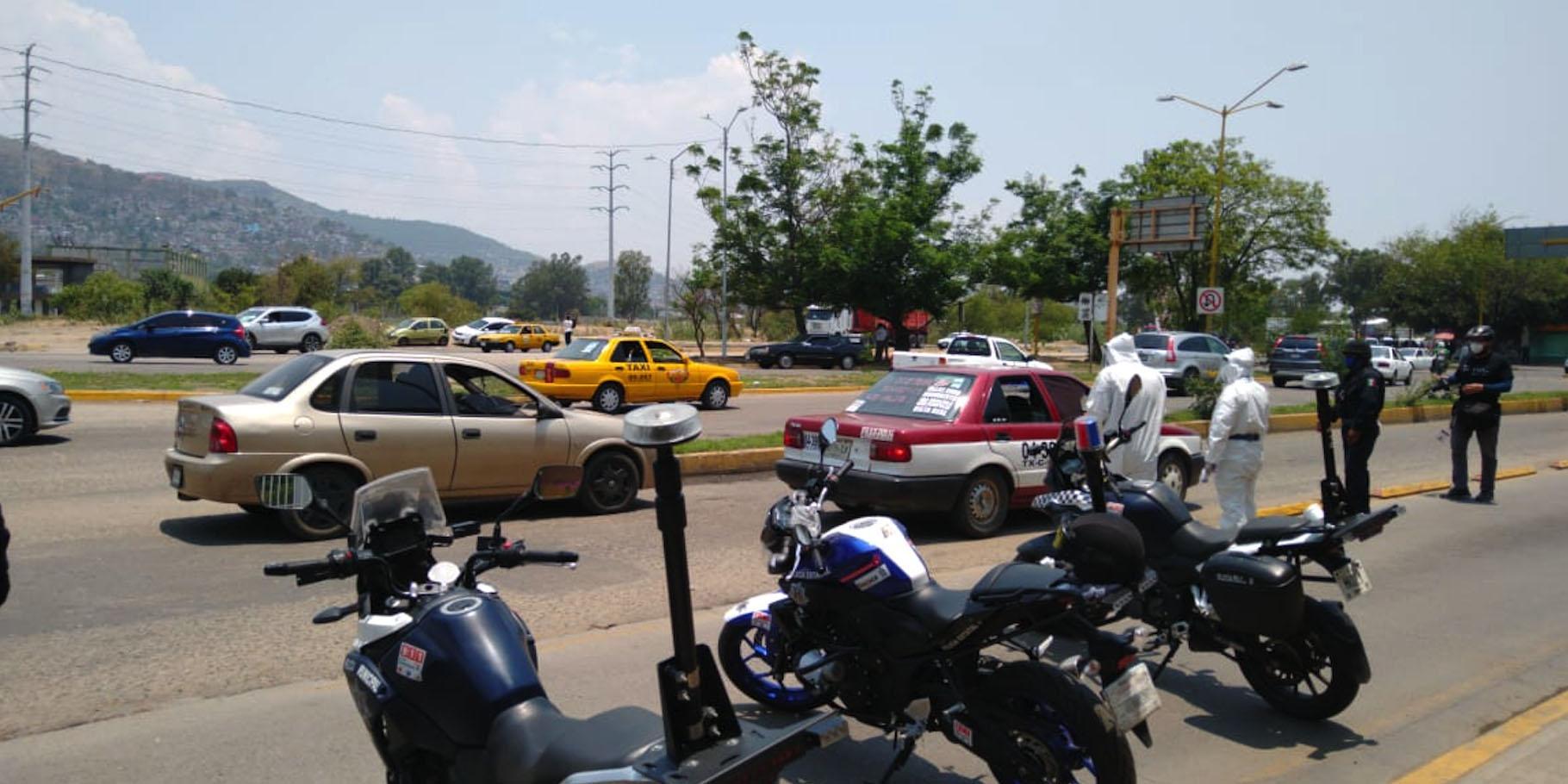 Colocan filtros sanitarios en los accesos a la Central de Abastos | El Imparcial de Oaxaca
