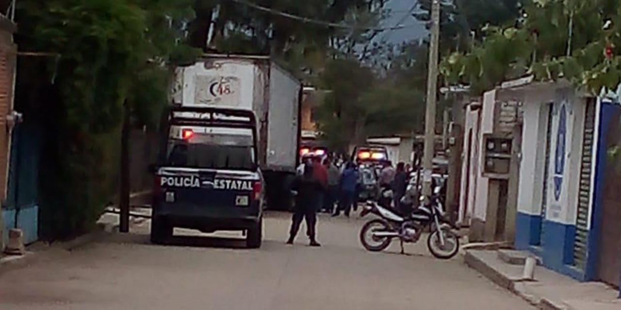 Encuentran tráiler robado en San Lorenzo Cacaotepec   El Imparcial de Oaxaca