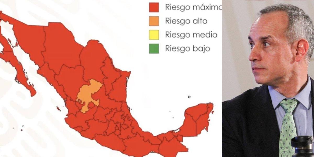 López-Gatell aclara controversia sobre semáforo rojo en todo México | El Imparcial de Oaxaca
