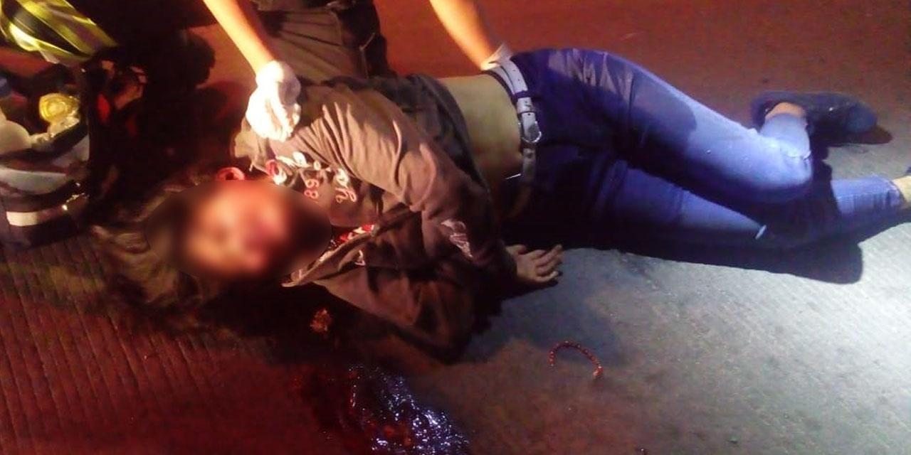 Motociclista ebria derrapa en Xoxocotlán | El Imparcial de Oaxaca
