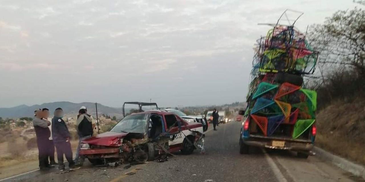 Aparatoso accidente deja 4 heridos de gravedad en Suchilquitongo   El Imparcial de Oaxaca