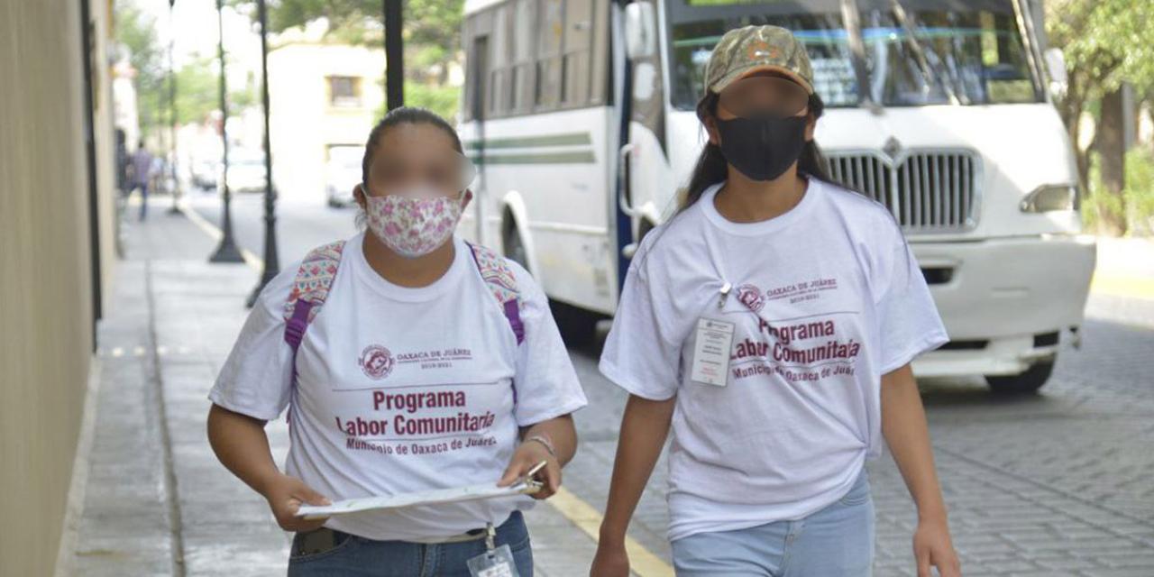 Programa de Labor Comunitaria inicia con menos participantes en Oaxaca | El Imparcial de Oaxaca
