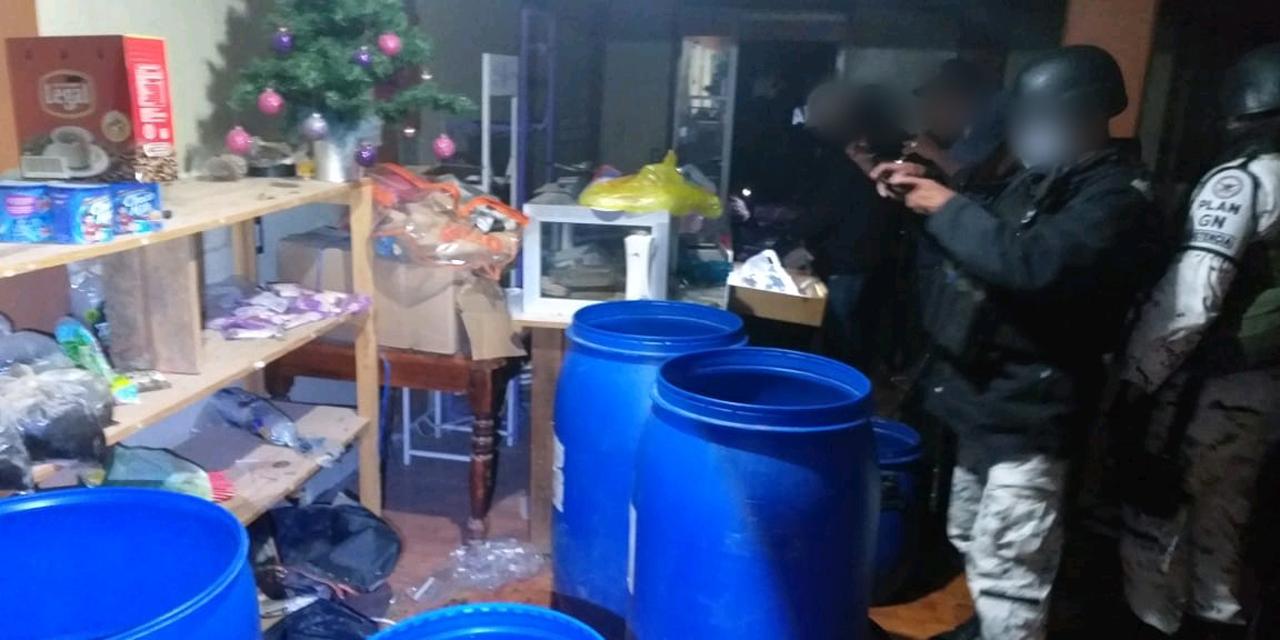 Aseguran drogas y cartuchos en Tlaxiaco   El Imparcial de Oaxaca