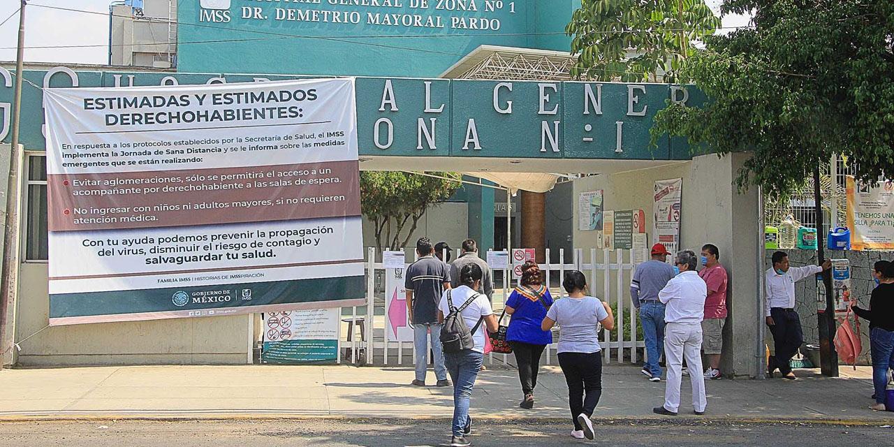 Mueren dos trabajadores del IMSS por Covid-19 | El Imparcial de Oaxaca