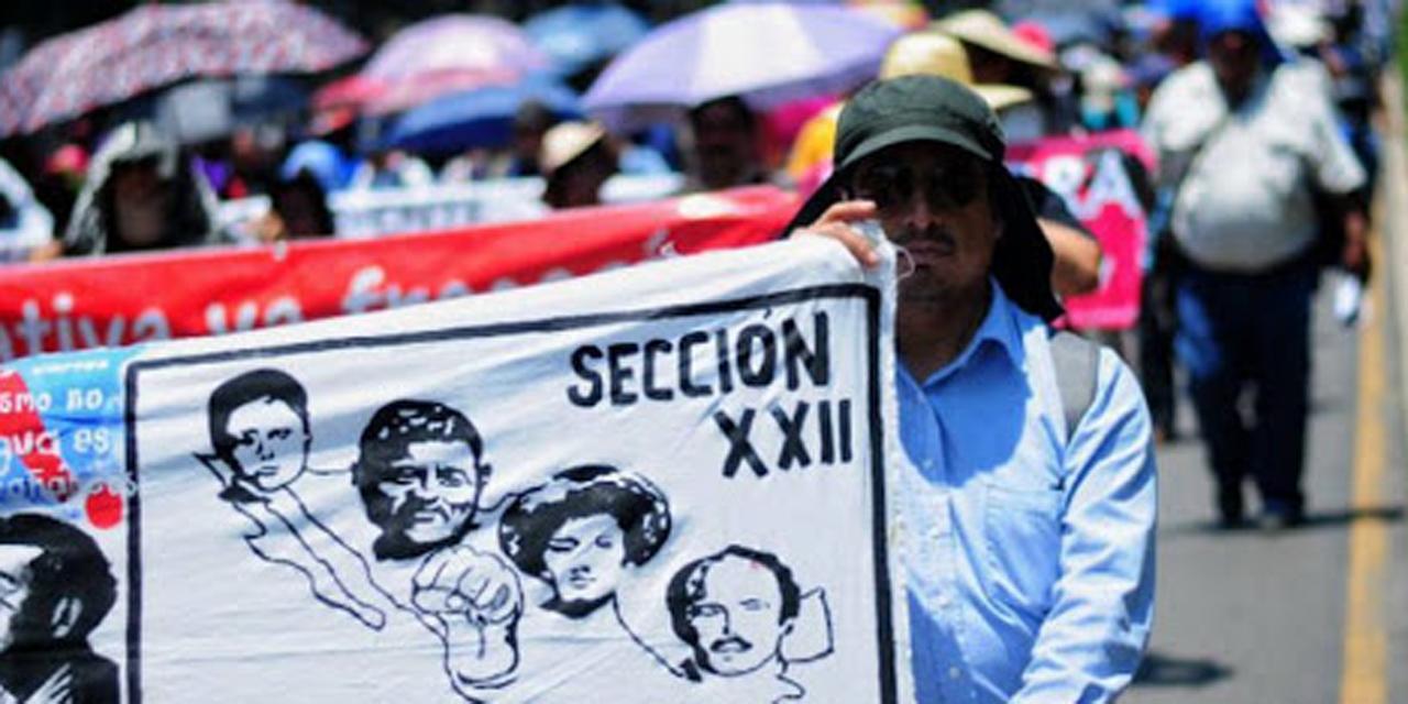 Va Sección 22 por su propia negociación con la federación | El Imparcial de Oaxaca