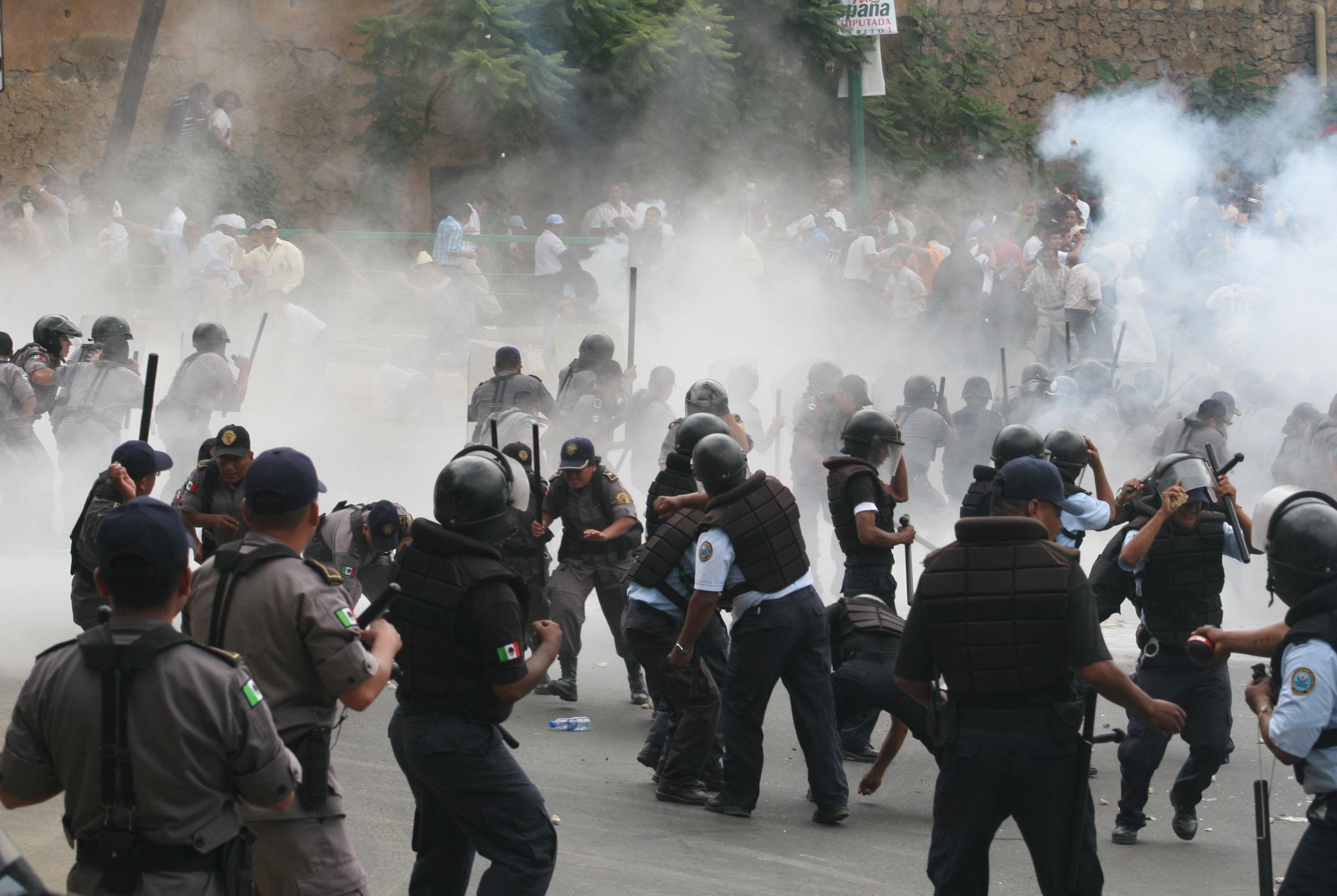 Se cumplen 14 años del enfrentamiento entre policías y Sección 22