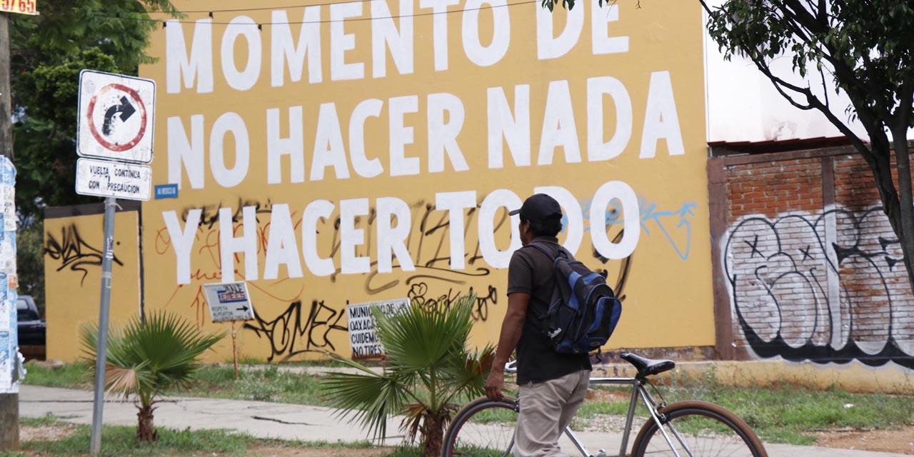 Solo la lluvia vacía las calles de Oaxaca | El Imparcial de Oaxaca