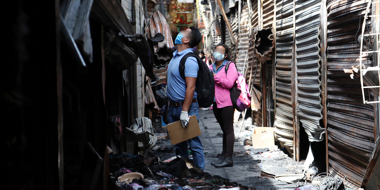 Incendio en la Central de Abasto consumió más de 300 locales | El Imparcial de Oaxaca
