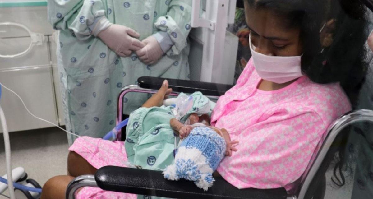 Mujer con Covid-19 y en coma da a luz a su bebé de seis meses de gestación   El Imparcial de Oaxaca