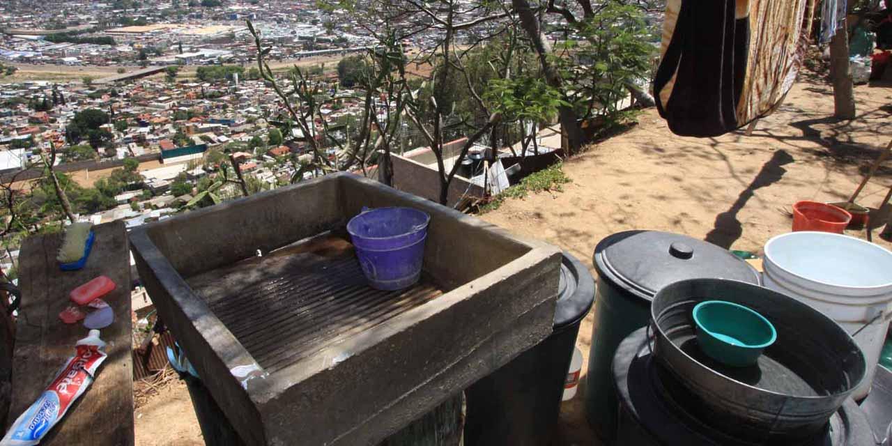 Capital oaxaqueña sin agua en plena contingencia | El Imparcial de Oaxaca