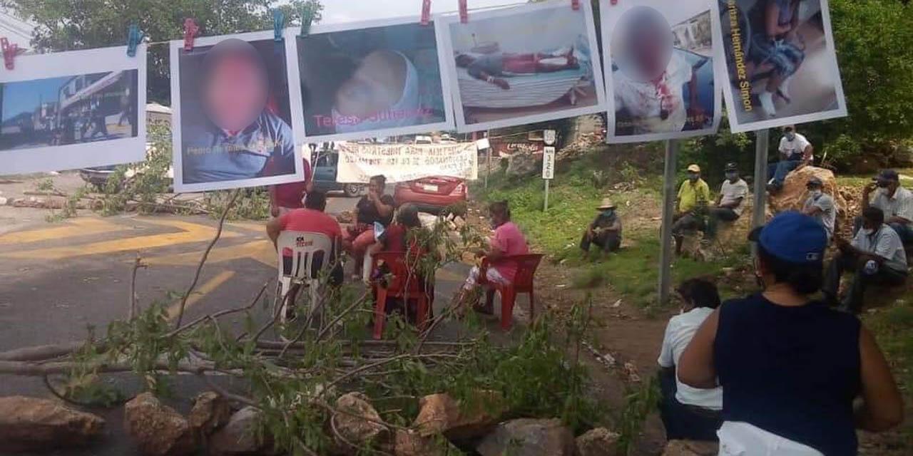 Bloquean carretera federal costera por un conflicto postelectoral | El Imparcial de Oaxaca