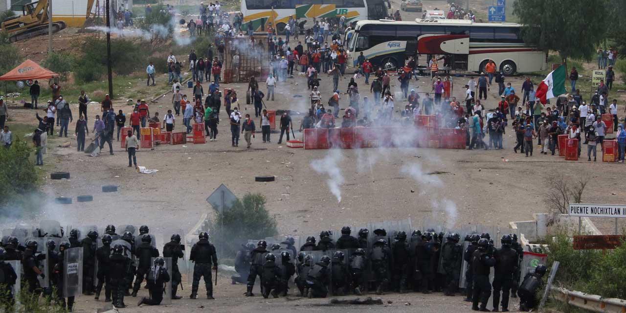 Covic reclama justicia a cuatro años del desalojo en Nochixtlán | El Imparcial de Oaxaca
