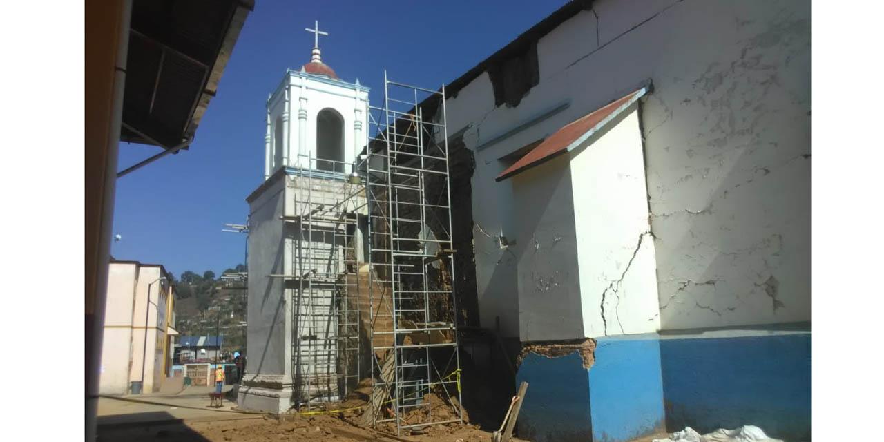 Sismo afecta a templo en Santa María Ozolotepec | El Imparcial de Oaxaca