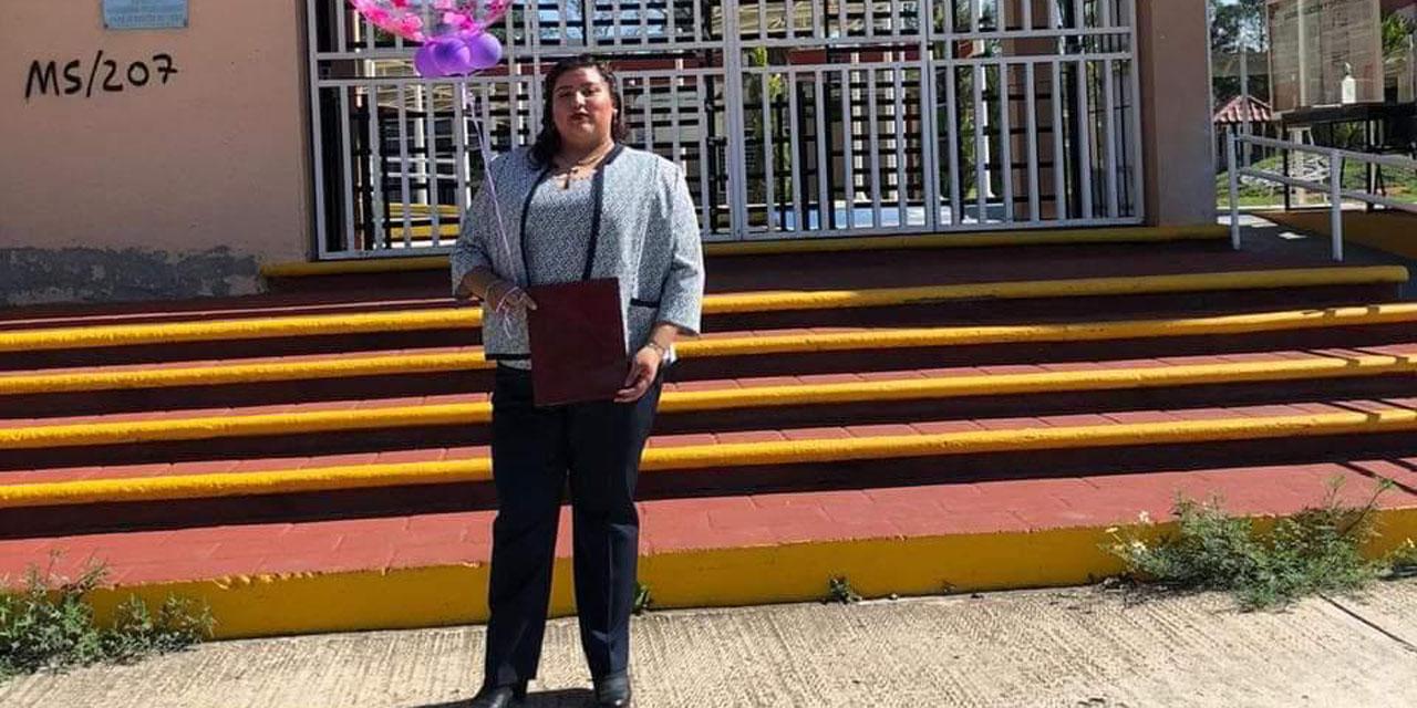 Daniela se gradúa | El Imparcial de Oaxaca