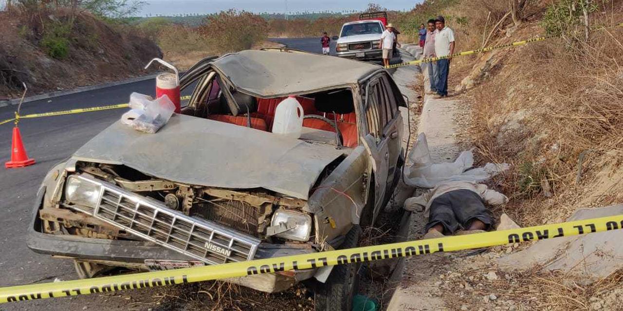 Accidente vial deja un muerto en Santa María Colotepec | El Imparcial de Oaxaca