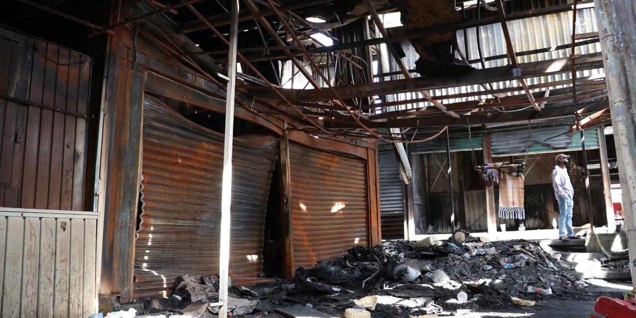 Ignoran monto de pérdidas por incendio en Mercado de Abasto | El Imparcial de Oaxaca