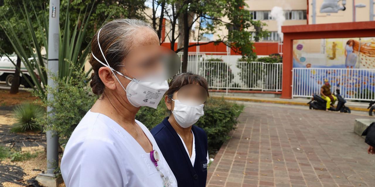 Remodelación del área Covid pone en riesgo a personal de Hospital Civil | El Imparcial de Oaxaca
