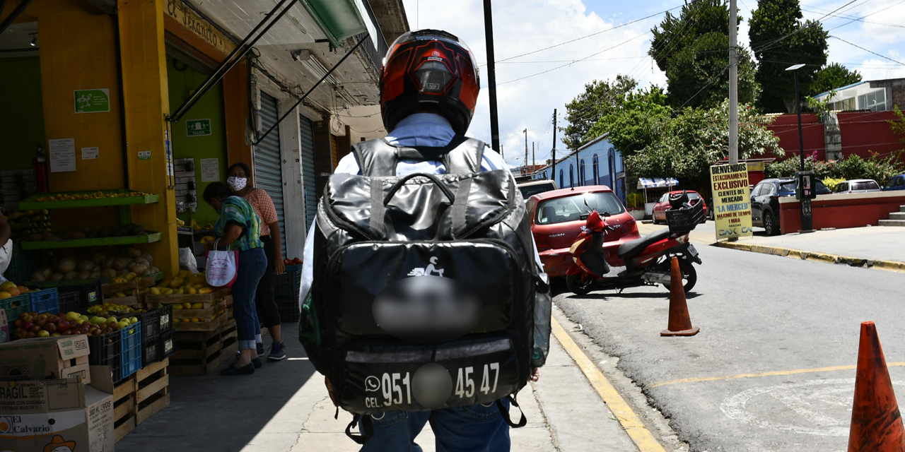 Aumentan servicios de mandados y entregas a domicilio en Oaxaca | El Imparcial de Oaxaca