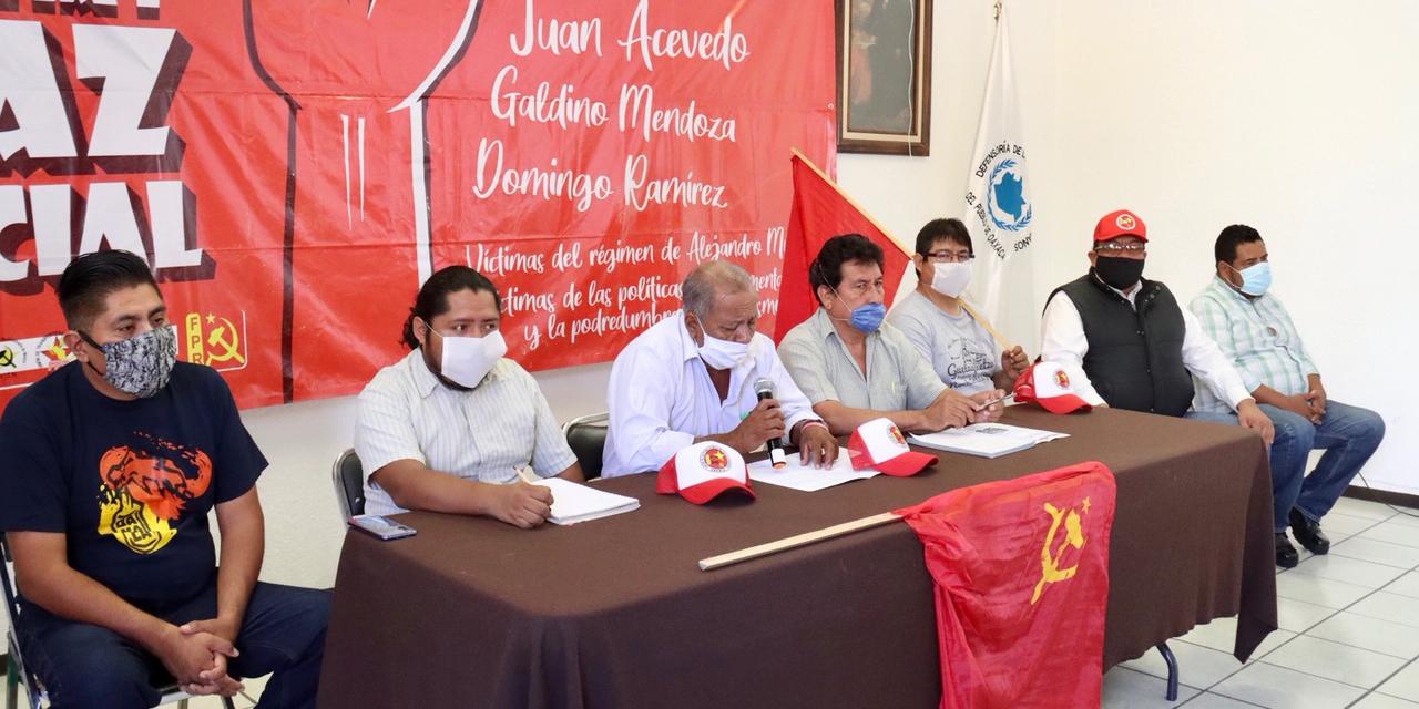 FPR contempla movilizaciones en Oaxaca este mes | El Imparcial de Oaxaca