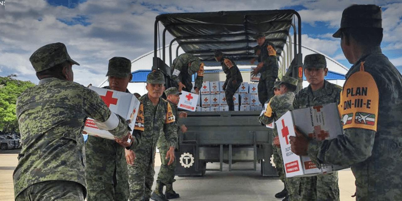 Sedena desmiente supuesta entrega despensas por dinero en el Istmo | El Imparcial de Oaxaca