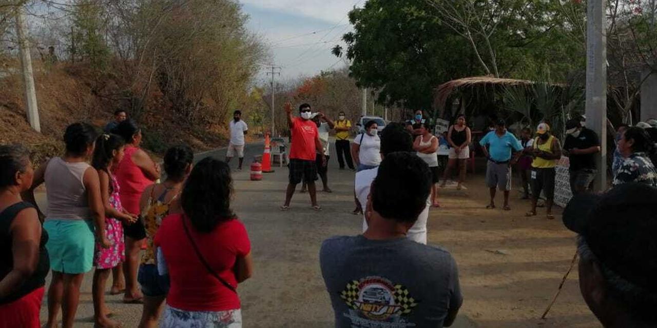 Zafarrancho en el filtro sanitario de El Mazunte | El Imparcial de Oaxaca