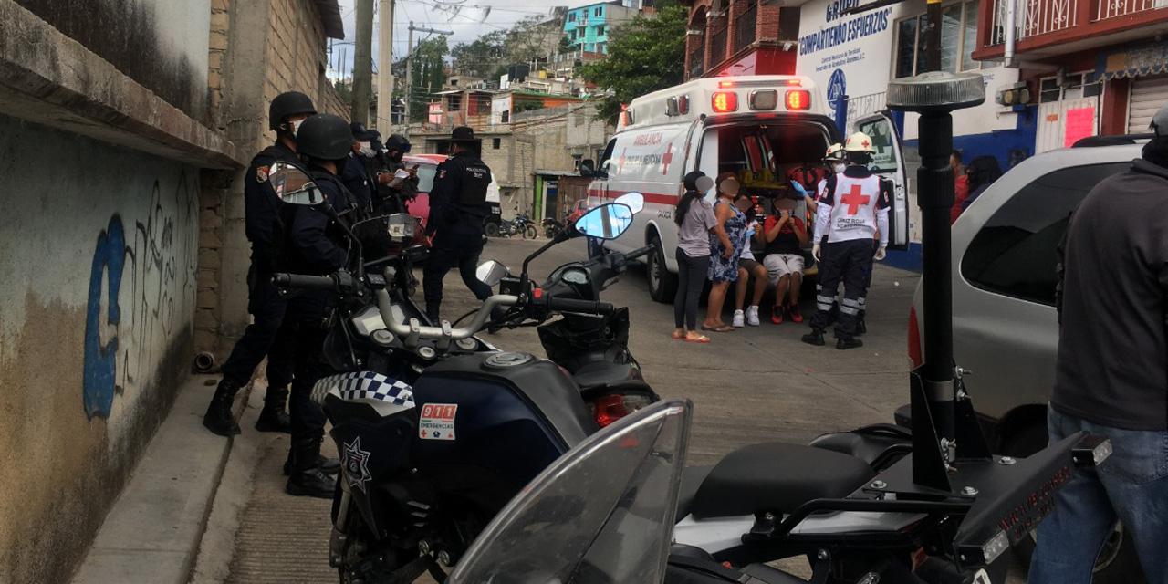 Balacera e intento de secuestro en Santa Cruz Xoxocotlán | El Imparcial de Oaxaca