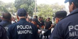 Policías de Salina Cruz son obligados a laborar aún con síntomas de Covid-19