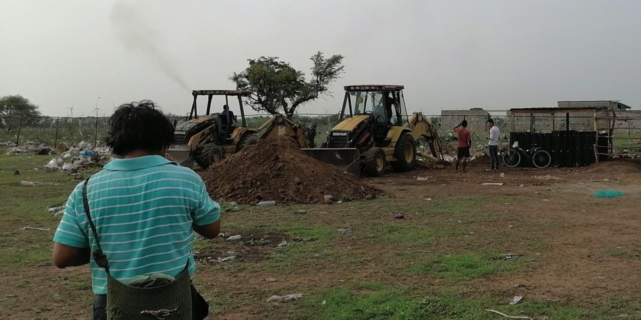 Preparan fosas comunes en Juchitán por aumento de muertes por Covid-19 | El Imparcial de Oaxaca