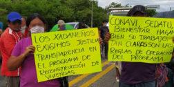 Continúan protestas contra presidente municipal de Xadani