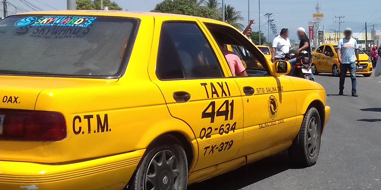 Detienen 70 taxis irregulares en Salina Cruz   El Imparcial de Oaxaca