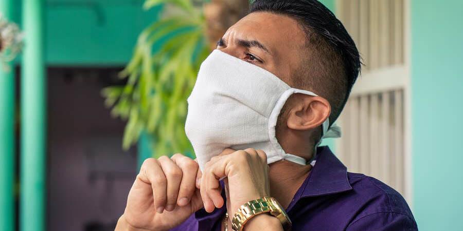Errores al utilizar las mascarillas de tela | El Imparcial de Oaxaca