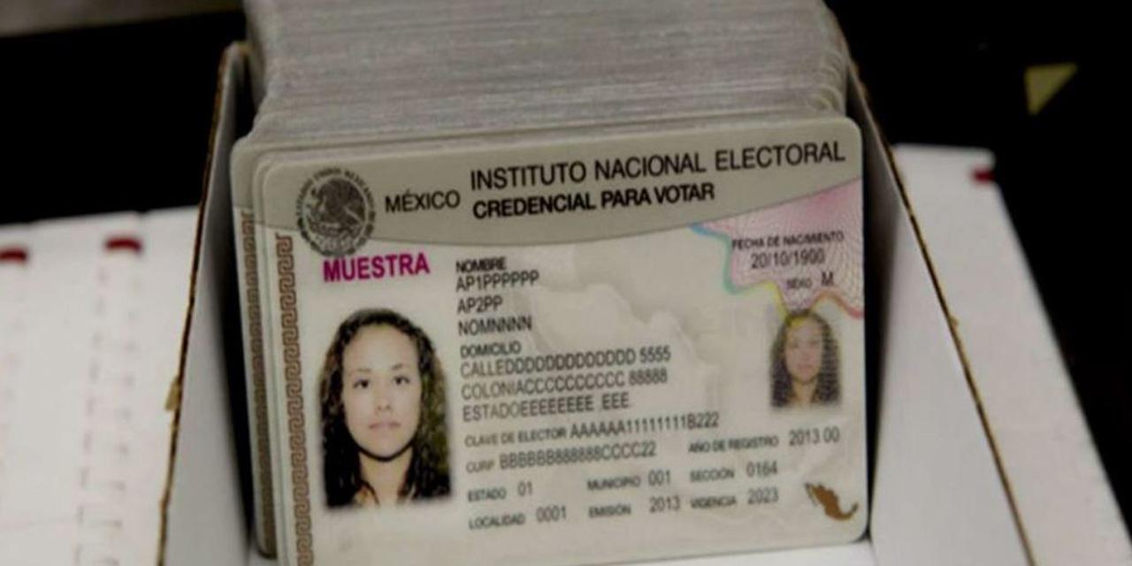 Extiende INE vigencia de 57,013 credenciales | El Imparcial de Oaxaca